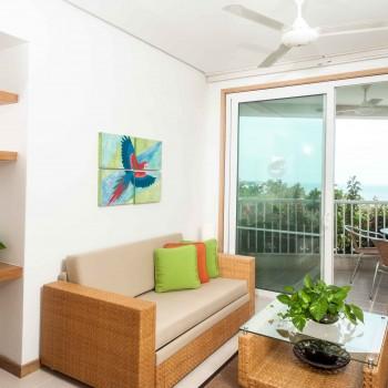 Sala Suite Tipo 1 Irotama del Mar. Suite de lujo en Santa Marta