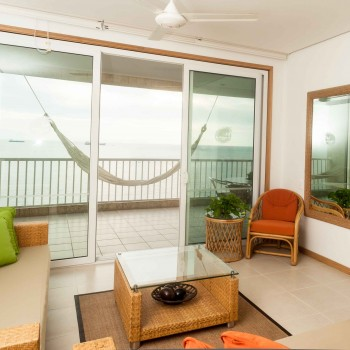 Alojamiento con vista al mar en Santa Marta