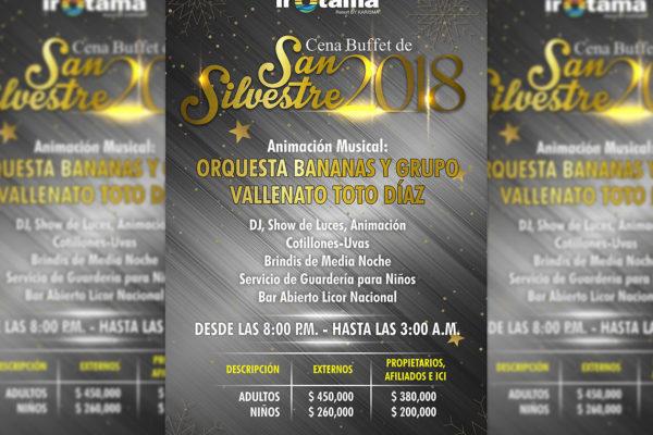 Cena San Silvestre 2018