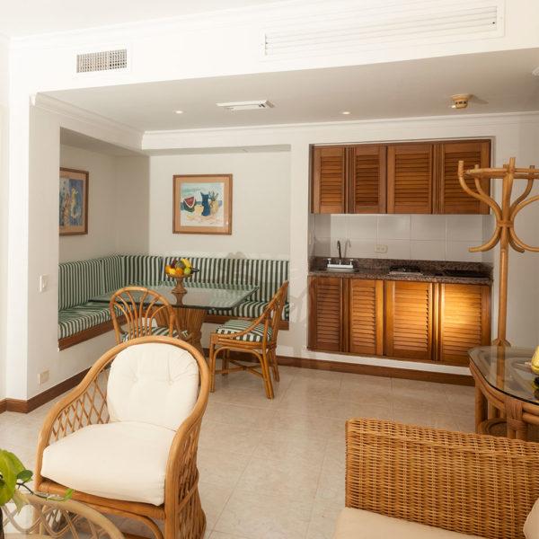 Cocina Suite Dos Habitaciones